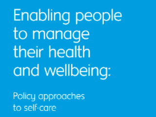 Enabling People to Manage their health and wellbeing News Teaser